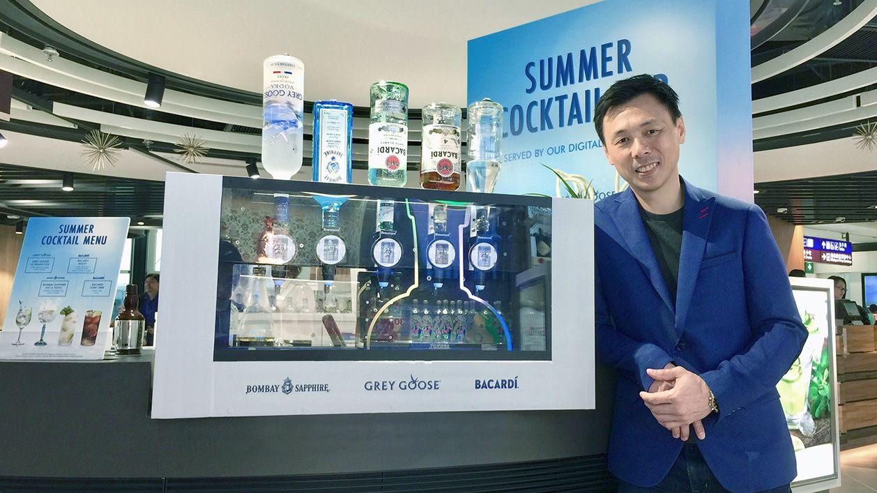 Interactive - Digital Bartender – Hong Kong International Airport