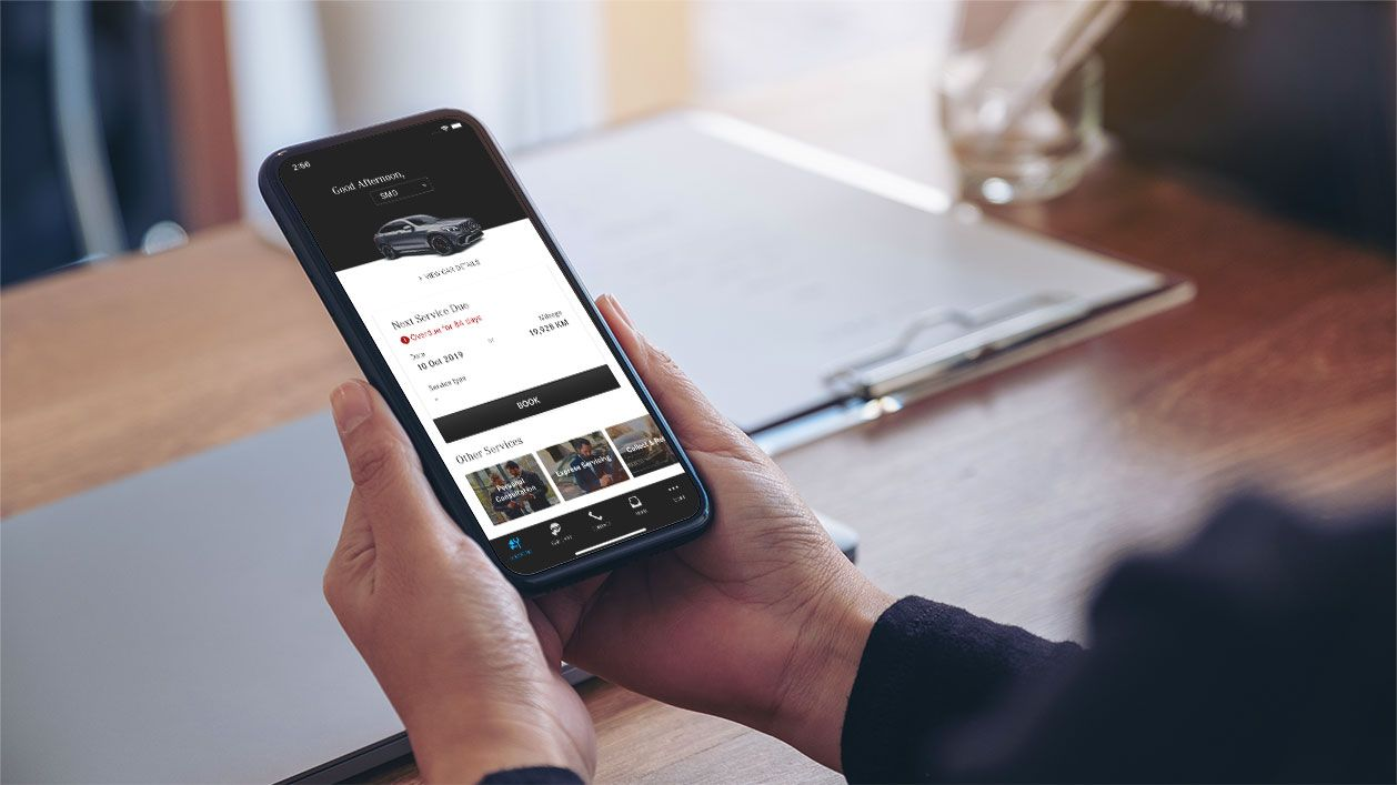 Mobile App - Cycle & Carriage - myMB App - Banner